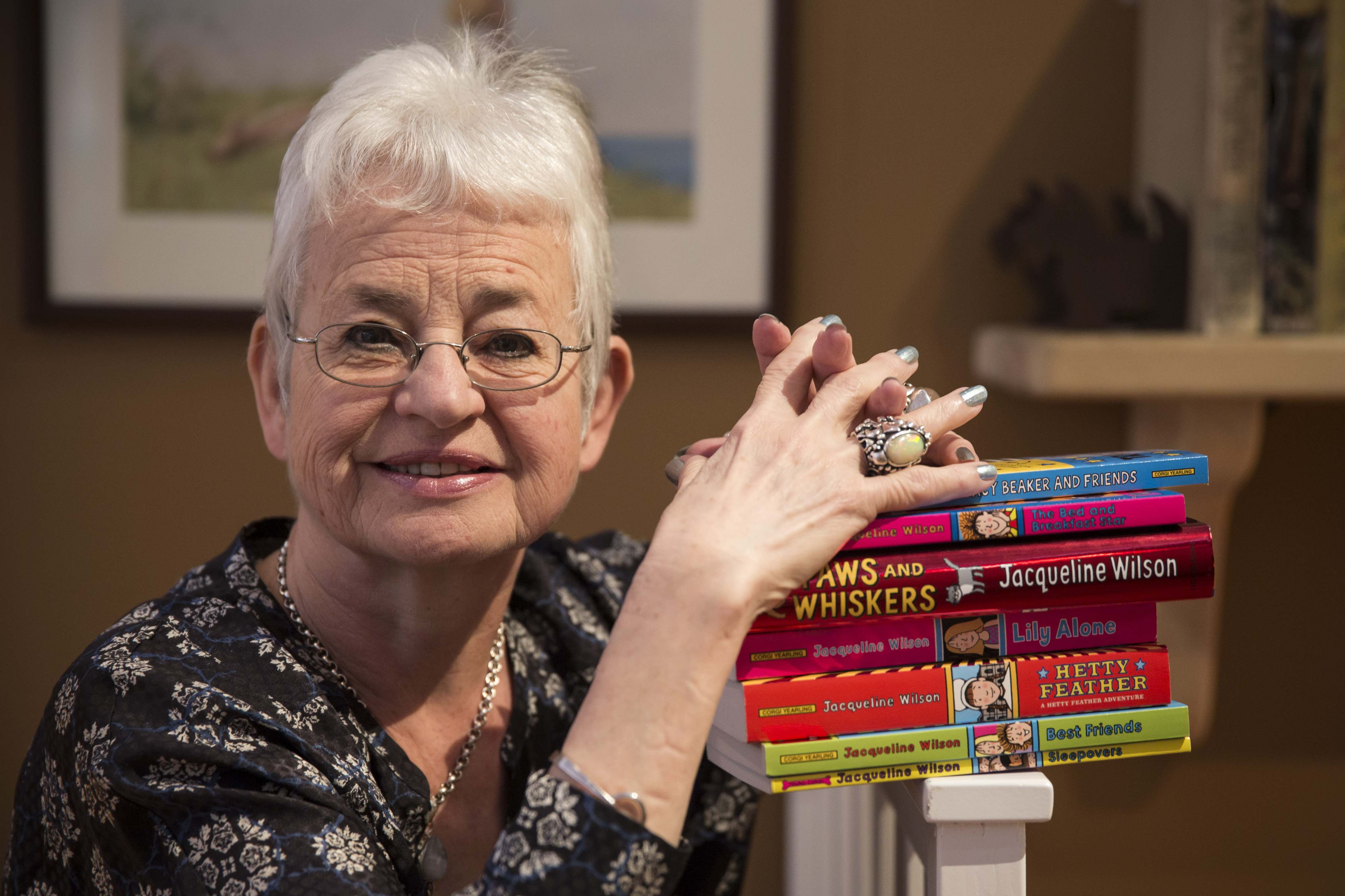 Author Jacqueline Wilson would never write a novel about a transgender child without good reason.