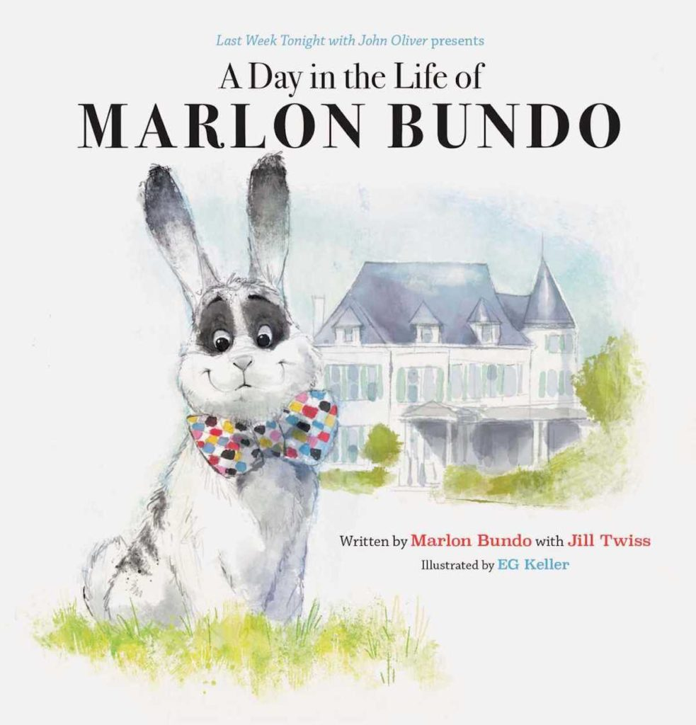 """John Oliver's book """"A Day in the Life of Marlon Bundo,"""" which has been sent to Karen Pence's school"""