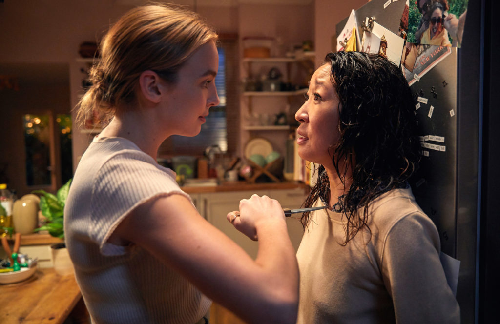 Killing Eve Villanelle and Eve