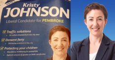Liberal candidate Kristy Johnson