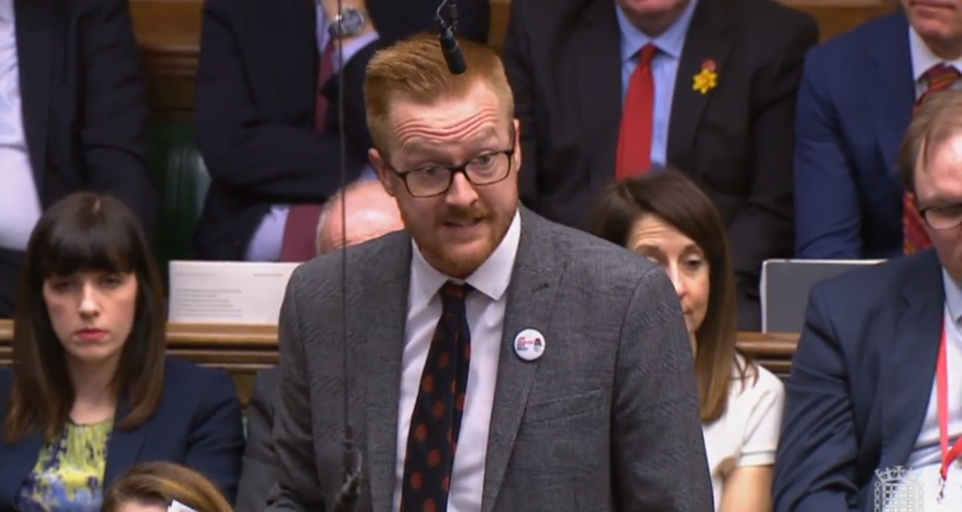 Lloyd Russell-Moyle wins re-election after going public about HIV status