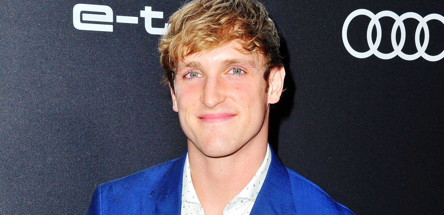 Logan Paul arrives at Audi Celebrates The 70th Emmys. (Jerod Harris/Getty Images)