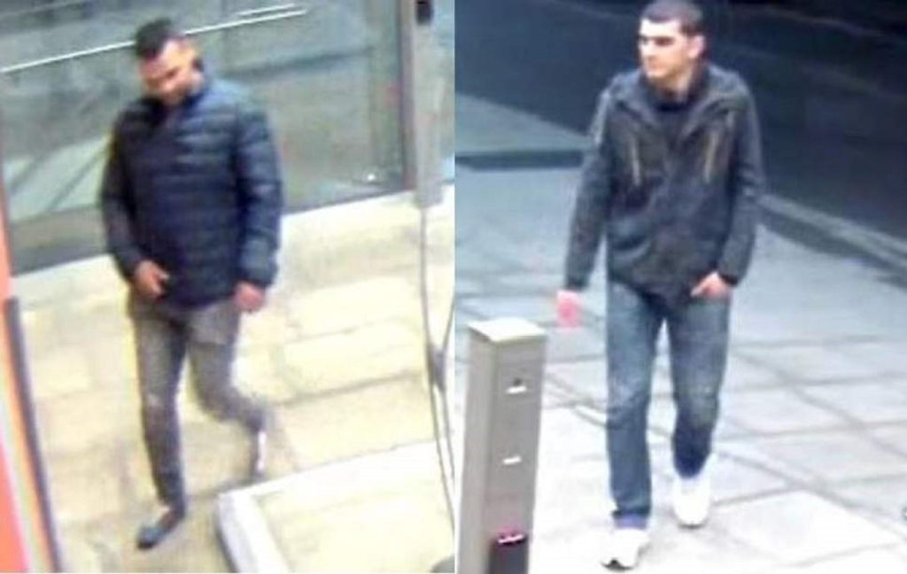 London's Metropolitan Police are looking to speak with two men in connection with the sexual assault