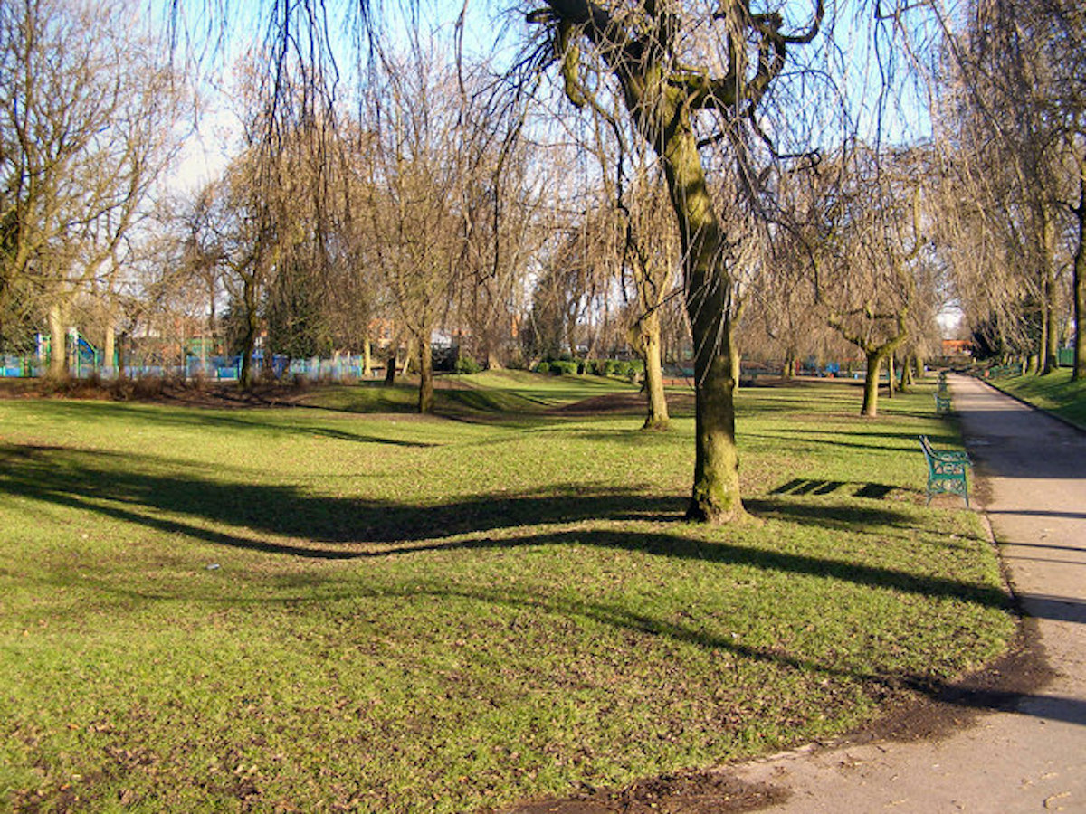 The park where a teen was assaulted in a homophobic attack