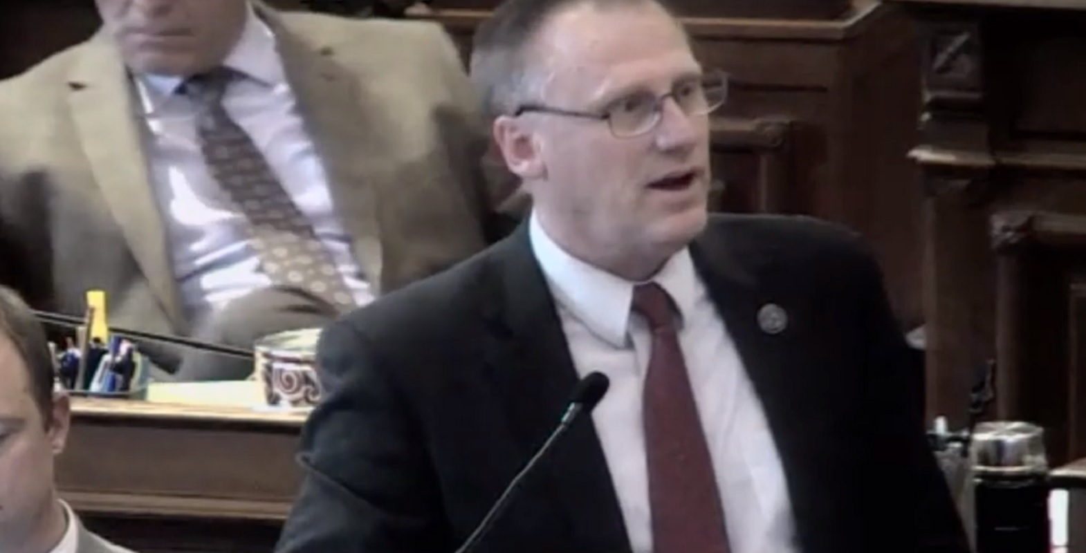 Iowa state senator Mark Costello penned the discriminatory amendment
