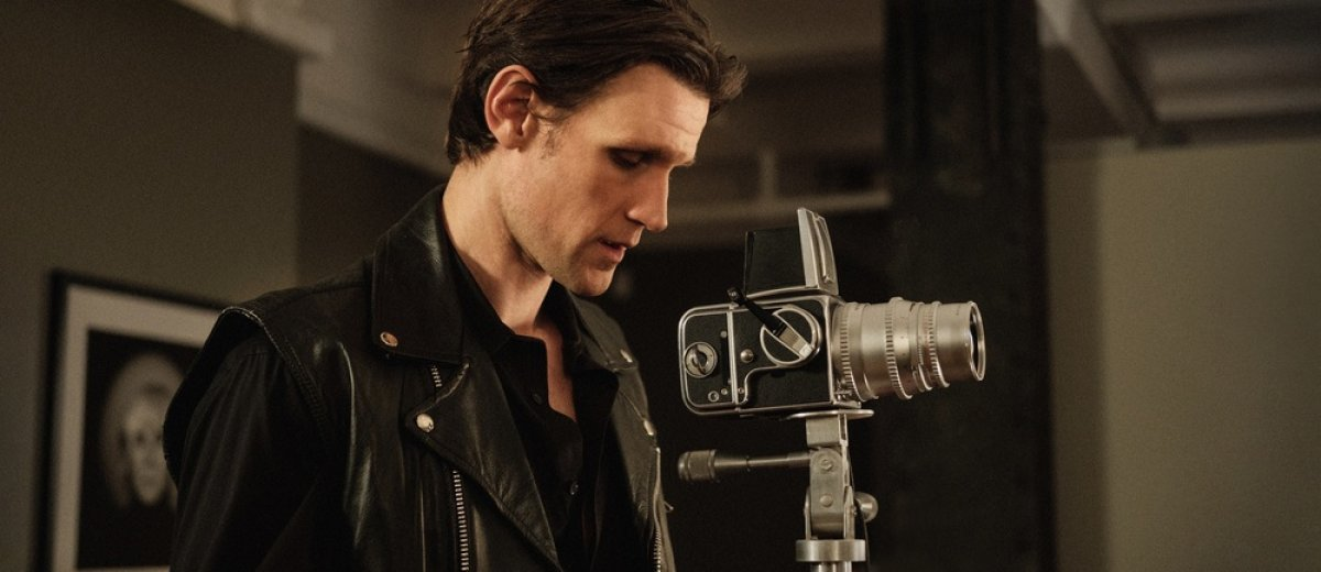 Matt Smith as Robert Mapplethorpe in biopic Mapplethorpe