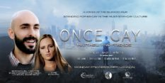 The poster for the London premiere of gay cure film Once Gay
