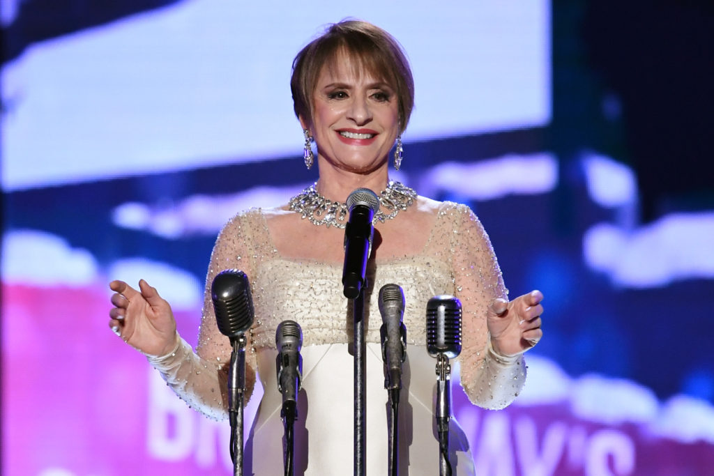 Actor Patti LuPone performs onstage during the 60th Annual GRAMMY Awards at Madison Square Garden on January 28, 2018 in New York City.