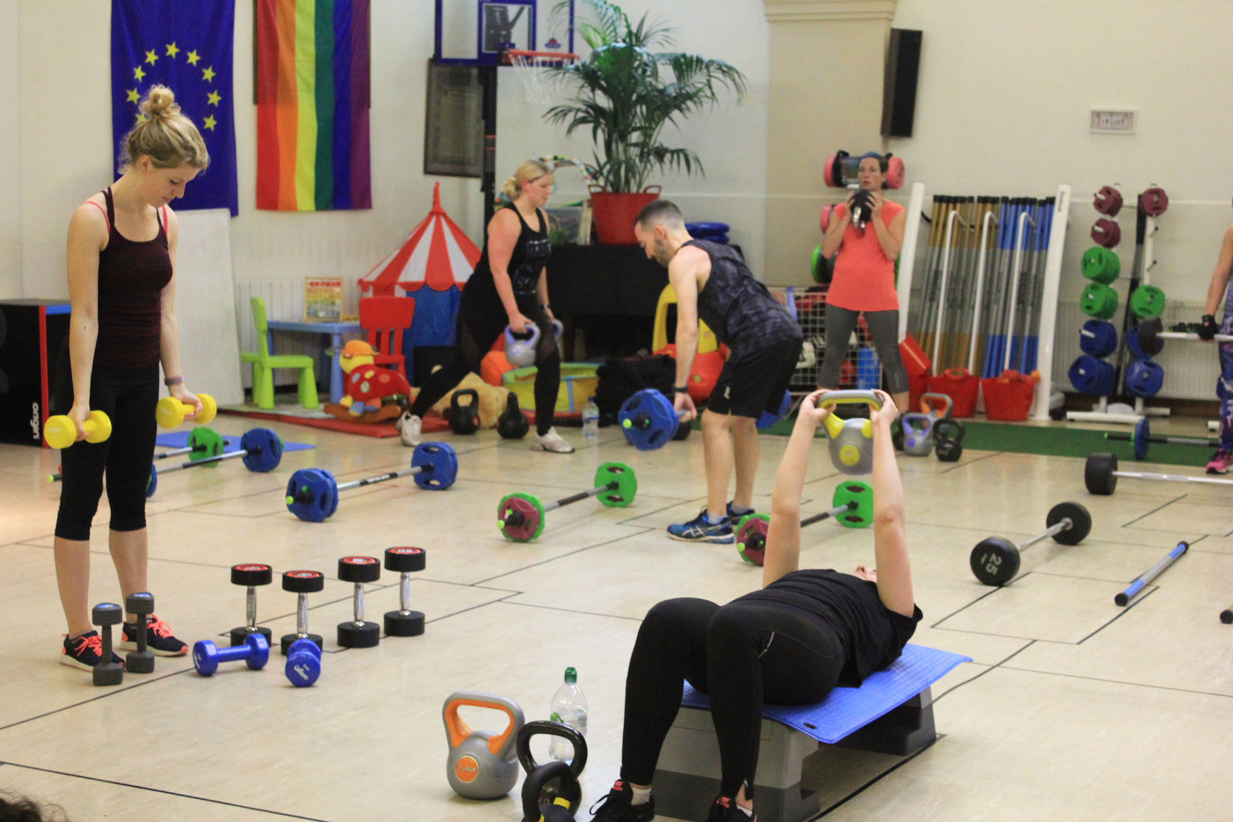 Projekt 42 is offering free gym classes for trans and non-binary people in the UK