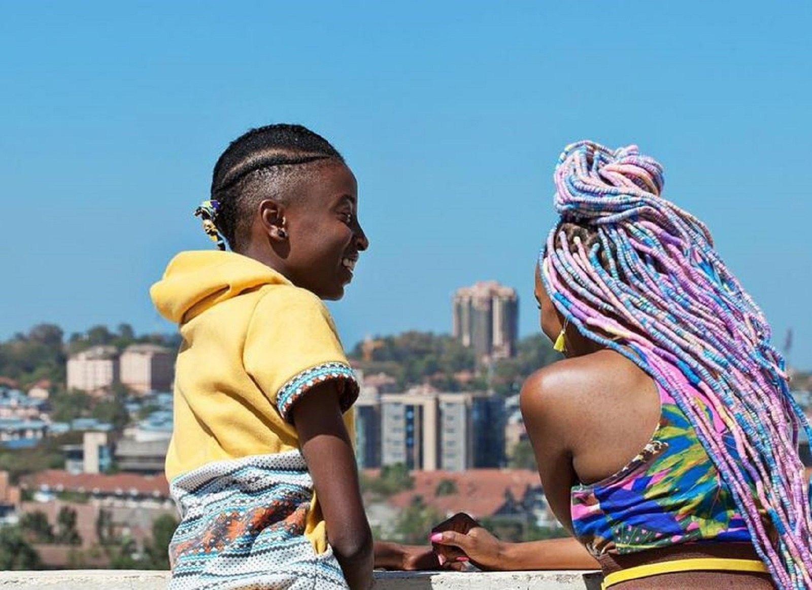 Banned film Rafiki claims acting award at African film festival