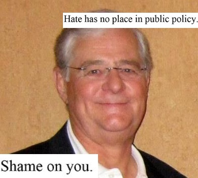 Kansas lawmaker Rep Ron Highland, who was publicly shamed by his LGBT daughter