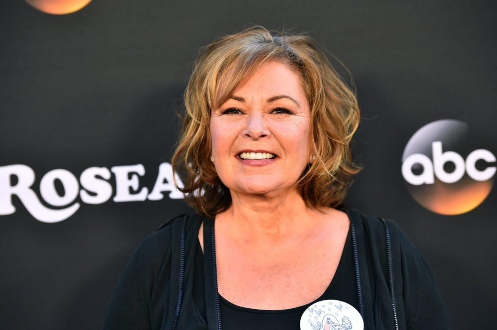Roseanne Barr talks about being queer in a Youtube video.