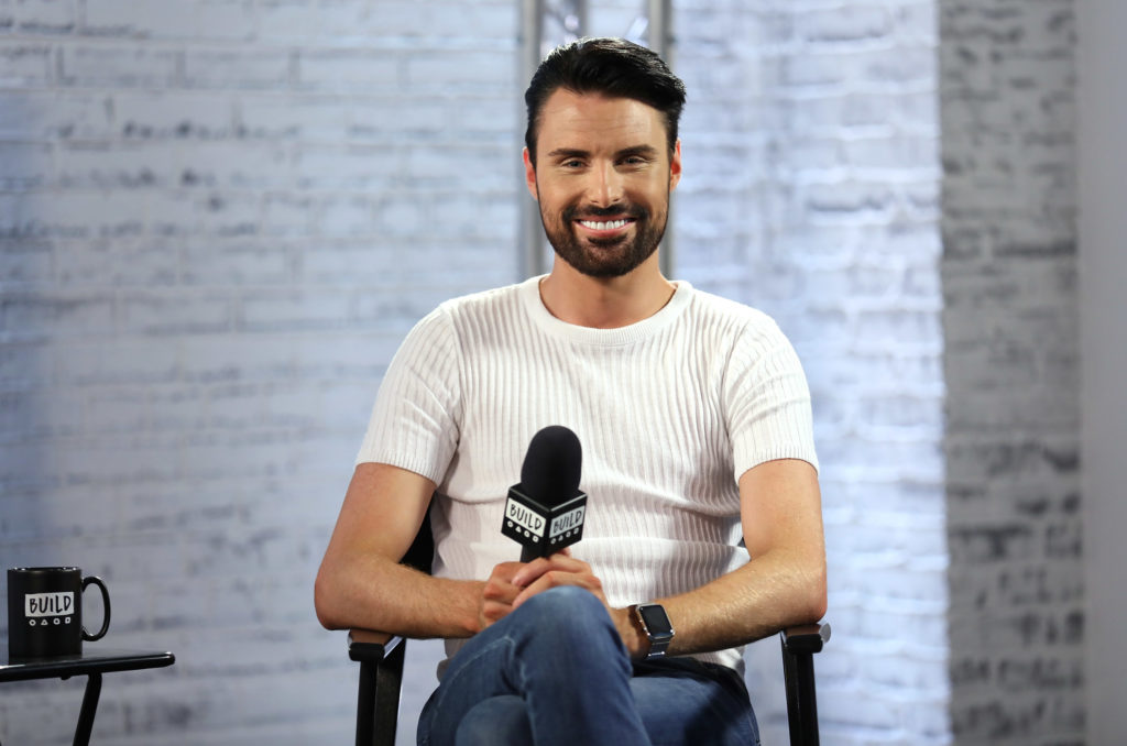 Rylan Clark-Neal in discussion about his new ITV gameshow 'Babushka'
