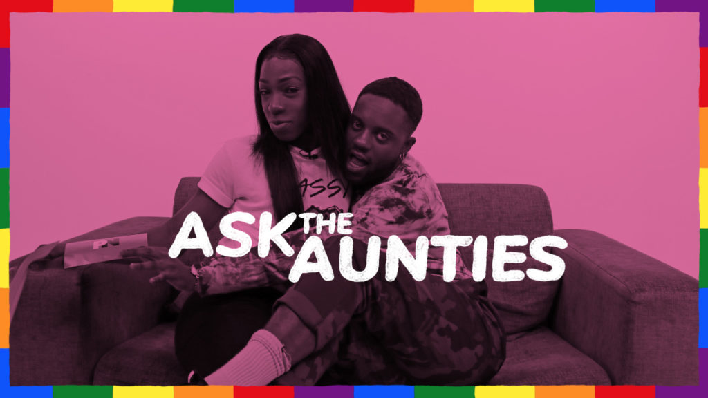 Ask the Aunties' Lee and Karnage discussing dilemma: I find gay marriage too heteronormative but my girlfriend is hinting she wants to go for it. Should I get married? (PinkNews)