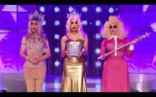 RuPaul's Drag Race All Stars winners Chad, Alaska and Trixie
