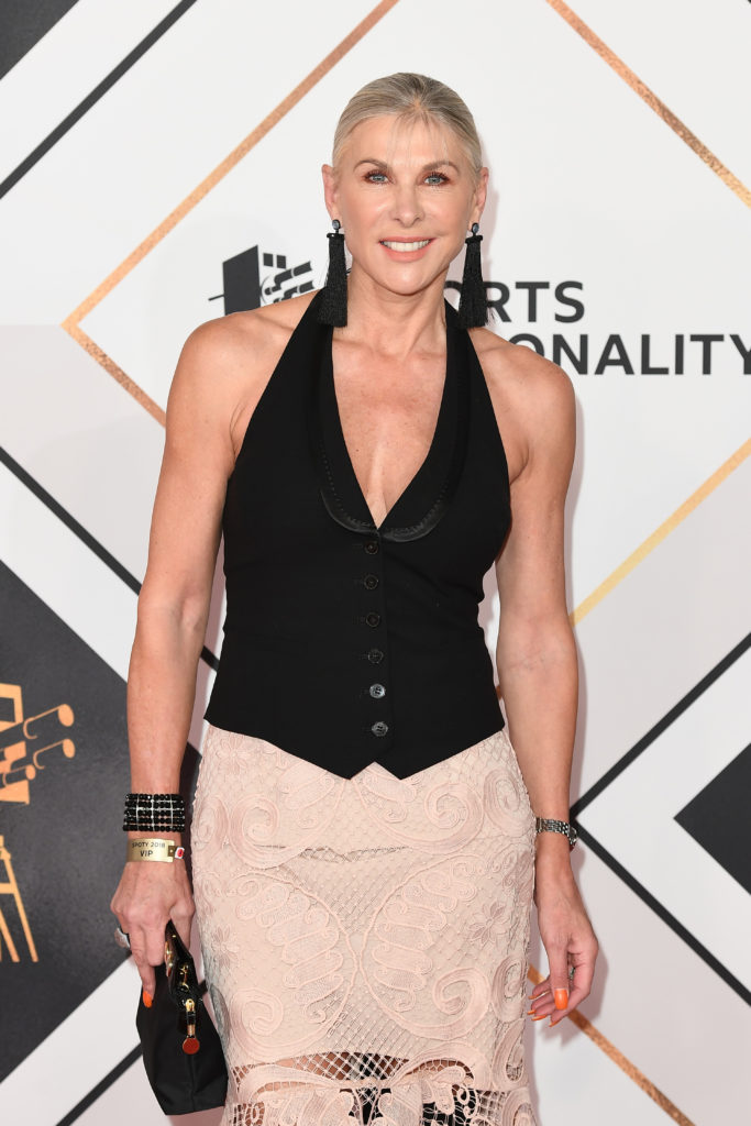 Sharron Davies attends the 2018 BBC Sports Personality Of The Year (Photo credit: Jeff Spicer/Getty Images).