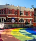 A photo of Sydney's new rainbow crossing
