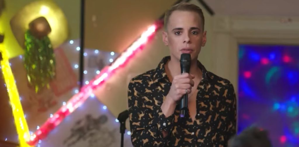 Fictional French Eurovision contestant TJ in Israeli comedy series Douze Points