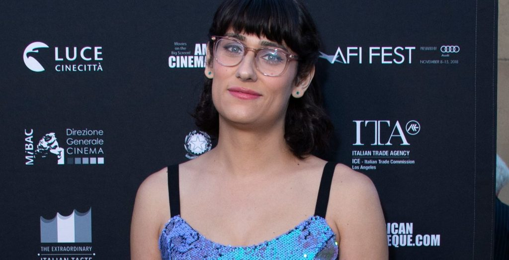 Teddy Geiger arrives at the AFI FEST 2018. (VALERIE MACON/AFP/Getty Images)