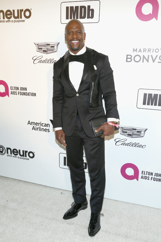 Terry Crews attends IMDb LIVE At The Elton John AIDS Foundation Academy Awards® Viewing Party. (Tommaso Boddi/Getty Images for IMDb )