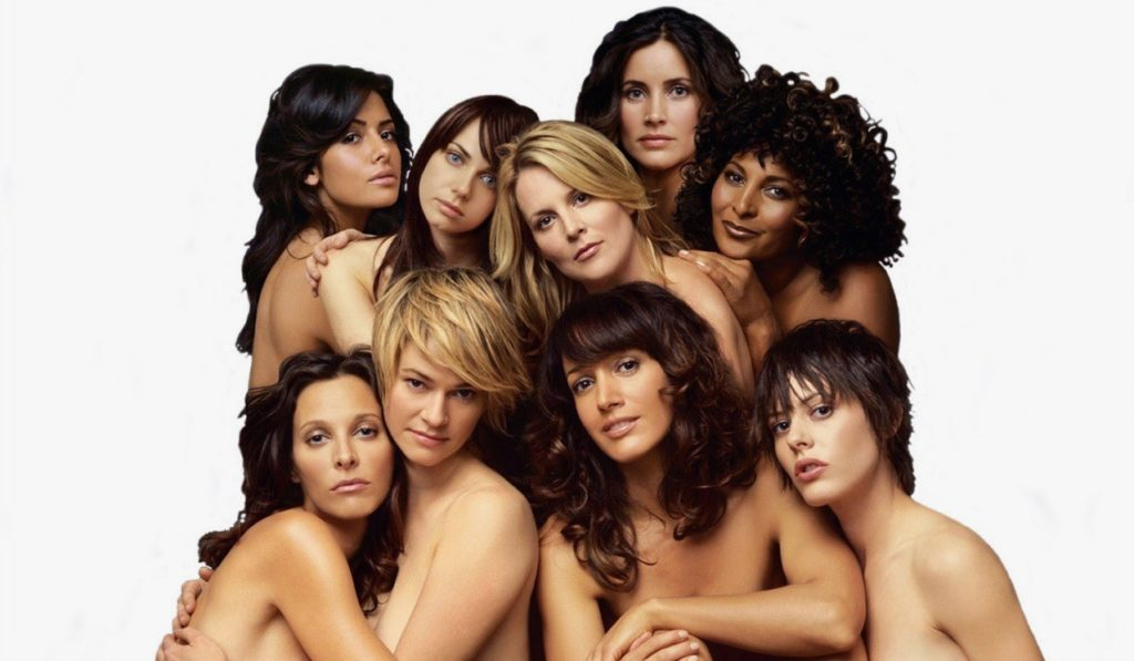 The original cast of The L Word