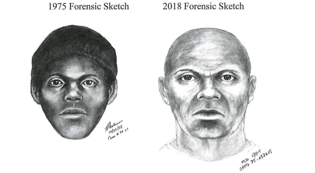 Police released sketches of serial killer The Doodler, including a mock-up of what he may look like today