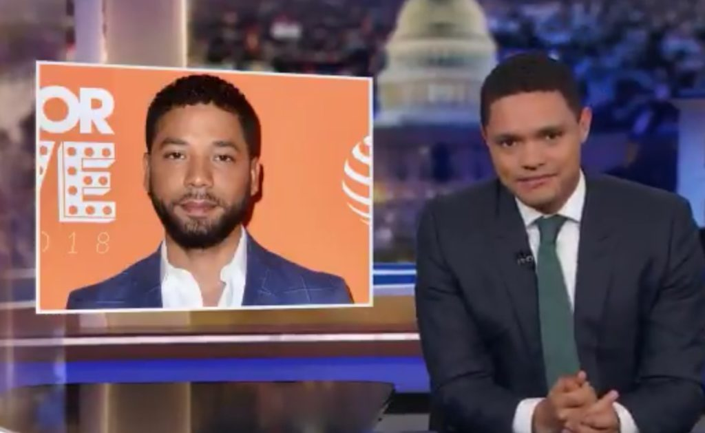 Trevor Noah: 'People hate Jussie Smollett because he's an asshole'