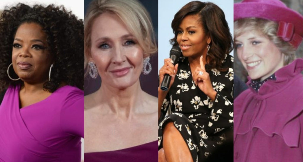 11 inspiring International Women's Day quotes including those by J.K. Rowling, Michelle Obama, Oprah Winfrey and Princess Diana.
