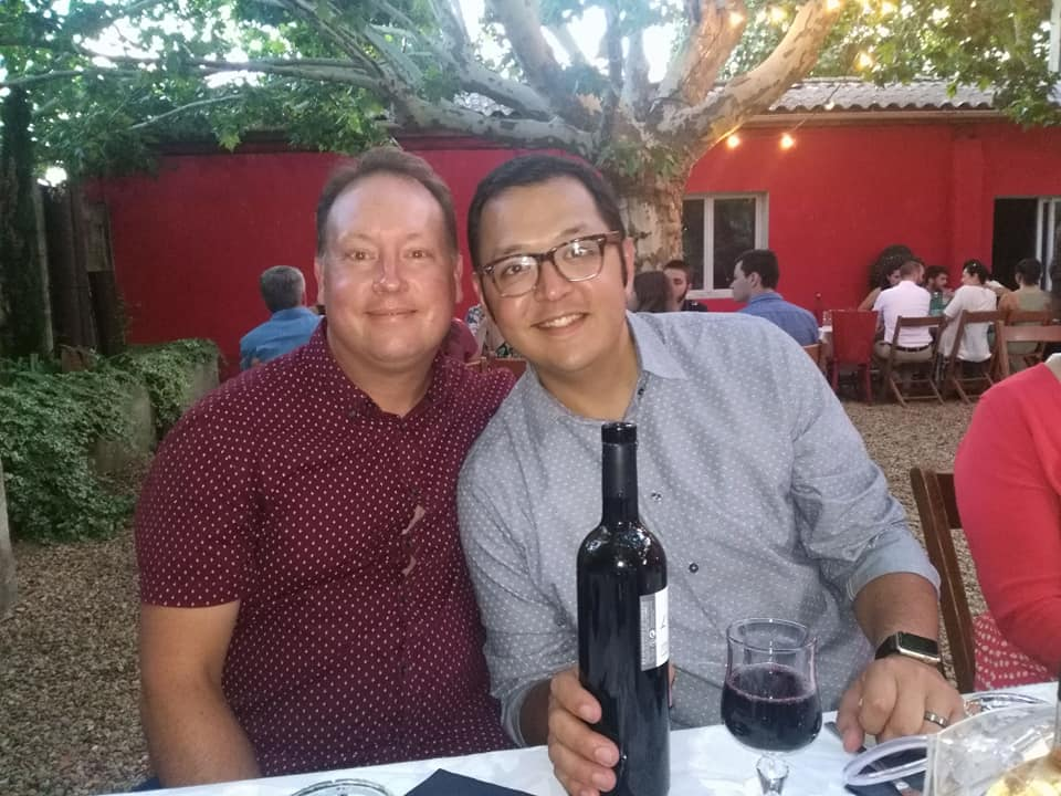 Gay couple aaron lucero and jeff cannon got engaged in June.