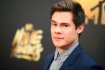 Actor Adam Devine attends the 2016 MTV Movie Awards at Warner Bros. Studios on April 9, 2016 in Burbank, California.