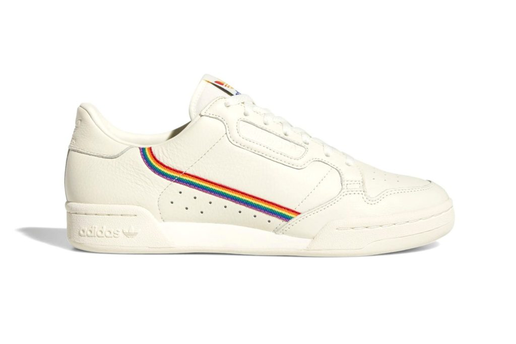 Adidas to release pride themed footwear with rainbow colours