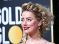 Amber Heard, who came out as bisexual in 2010, attends the 76th Annual Golden Globe Awards at The Beverly Hilton Hotel on January 6, 2019 in Beverly Hills, California