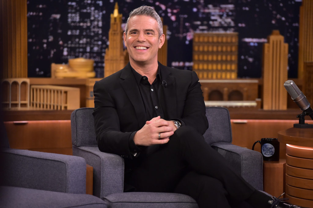 Dad to be Andy Cohen has baby shower with Real Housewives