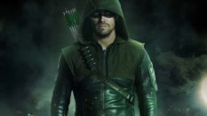 Stephen Amell as Oliver Queen on The CW show Arrow