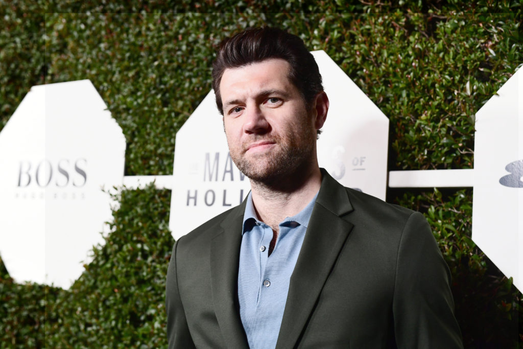 Billy Eichner attending Esquire's 'Mavericks of Hollywood' Celebration presented by Hugo Boss on February 20, 2018 in Los Angeles, California, before he appeared on The Bachelor