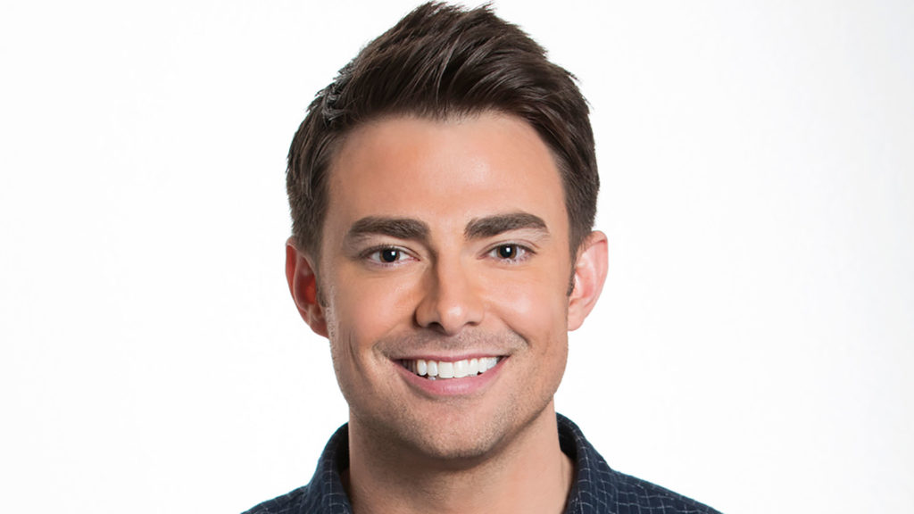 Jonathan Bennett in a promotional shot for Celebrity Big Brother
