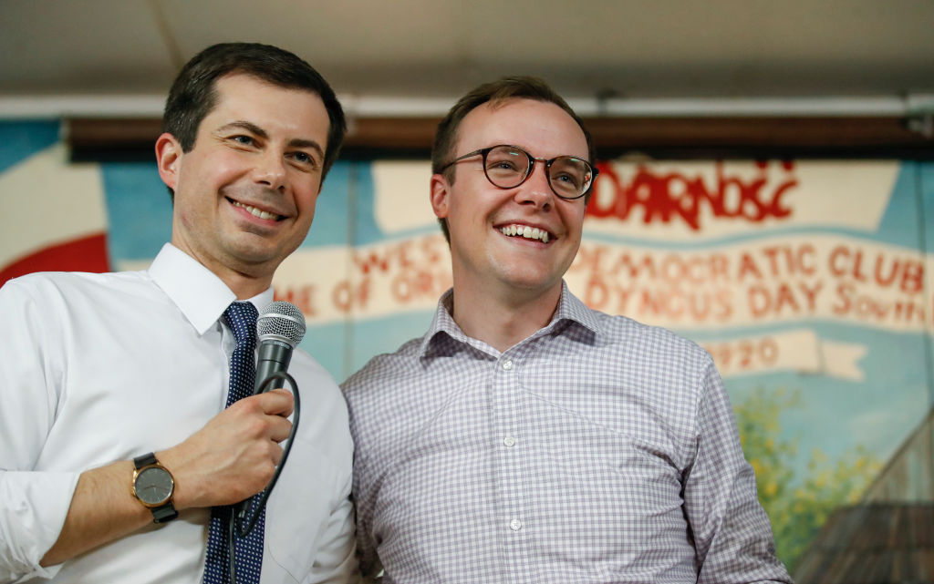 Pete Buttigieg loves transport so much he proposed to his husband in an airport terminal