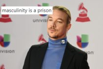 A tweet by Diplo over a picture of the US DJ arriving at the 19th Annual Latin Grammy Awards in Las Vegas, Nevada, on November 15 2018