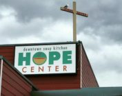 The Hope Center homeless shelter in Anchorage, Alaska