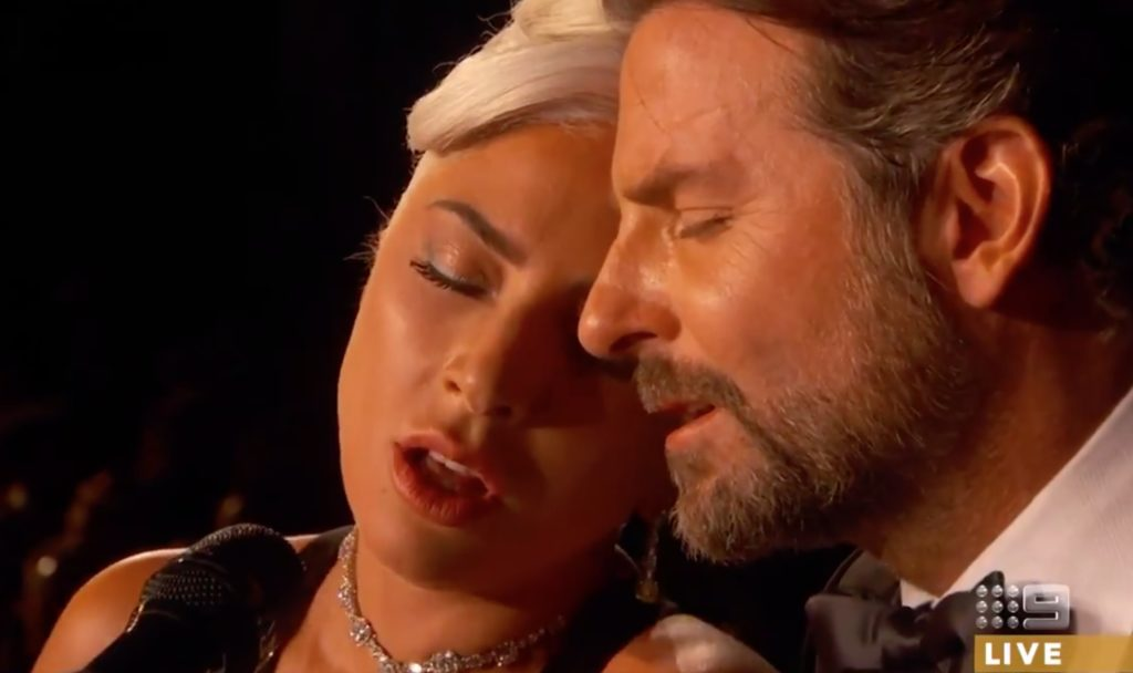 Lady Gaga and Bradley Cooper perform Shallow at Oscars