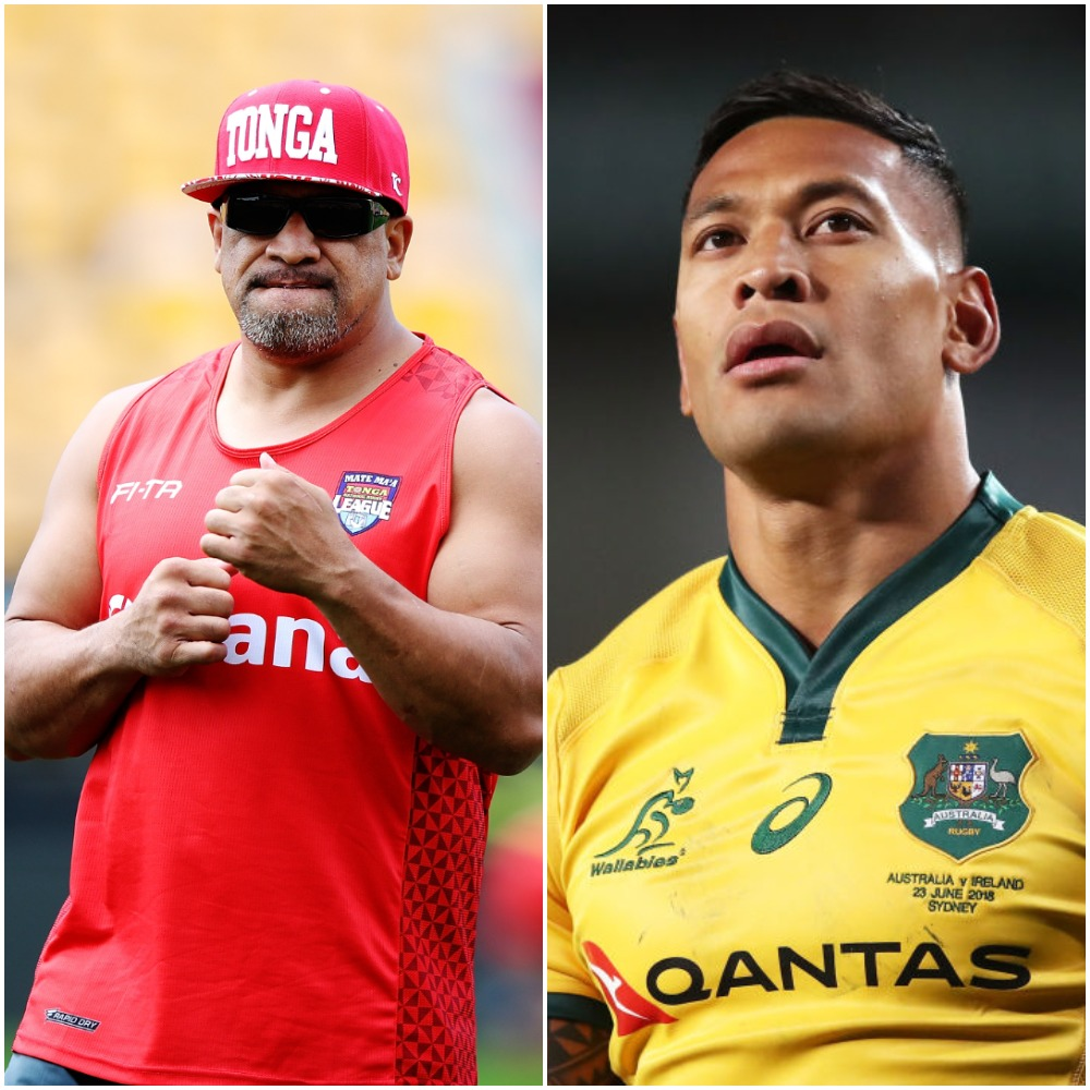 Israel Folau: John Hopoate supports rugby player's anti-gay comments