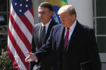 Jair Bolsonaro lauds 'traditional family lifestyles' in White House visit