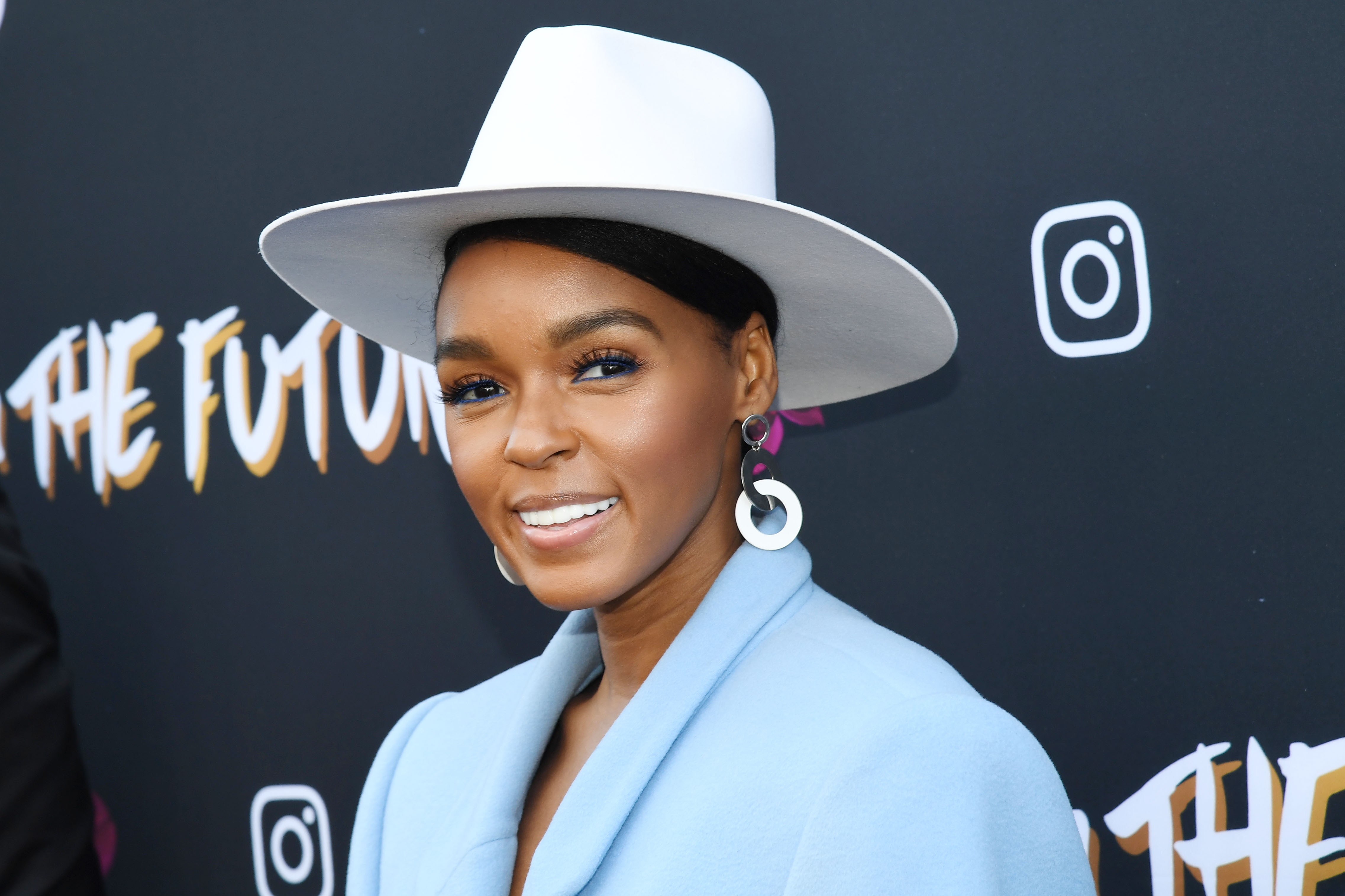Janelle Monáe attends Janelle Monáe x Instagram Fem The Future Brunch on February 08, 2019 in Los Angeles, California