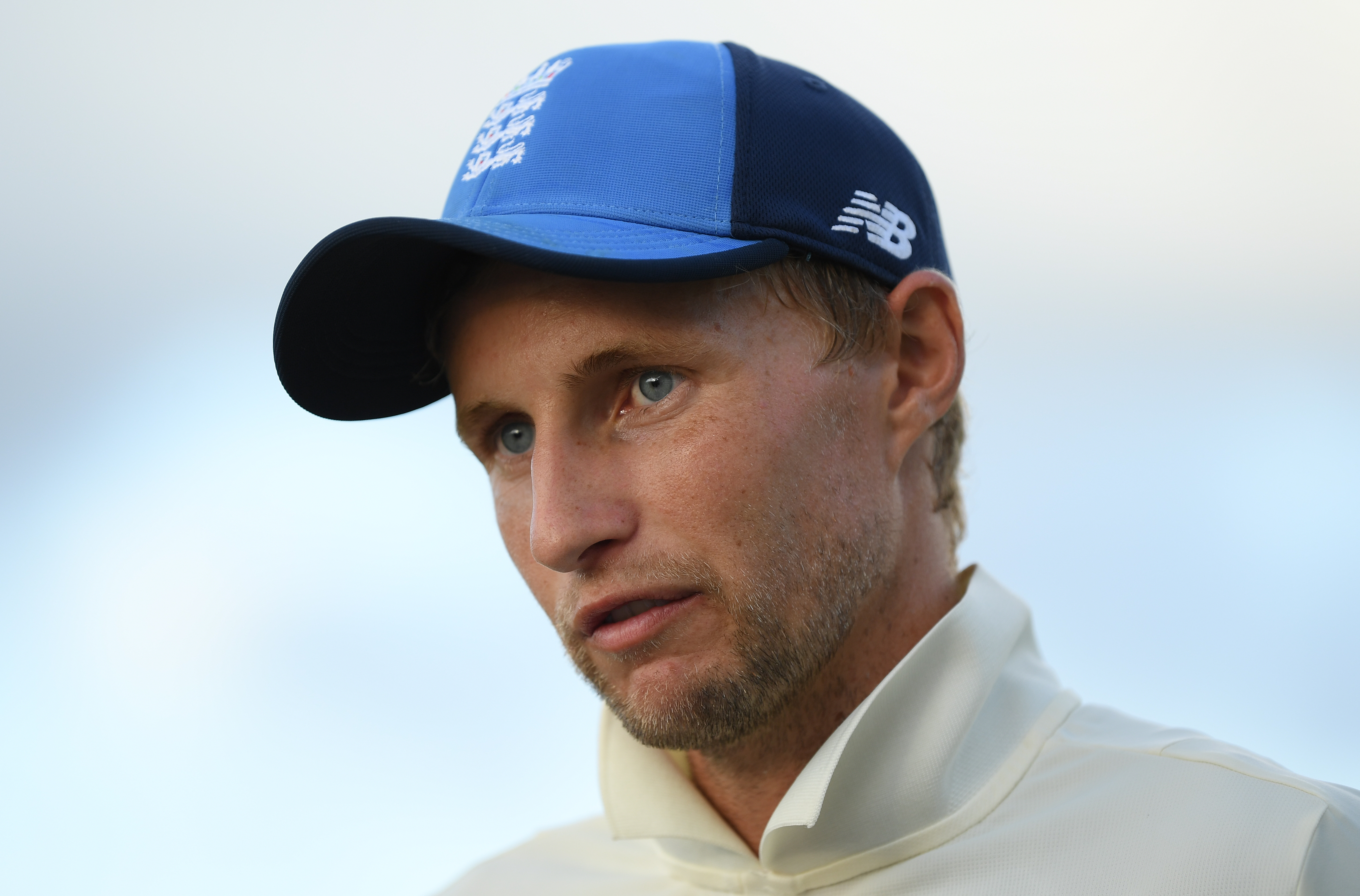 England captain Joe Root talks to the media after Day Three of the Third Test match between the West Indies and England at Darren Sammy Cricket Ground on February 11, 2019 in Gros Islet, Saint Lucia