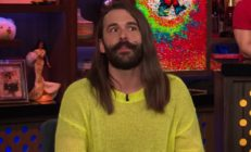 Queer Eye star Jonathan Van Ness appearing on Watch What Happens Live with Andy Cohen on March 24 2019.