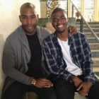 Queer Eye star Karamo Brown in an Instagram photo with his son