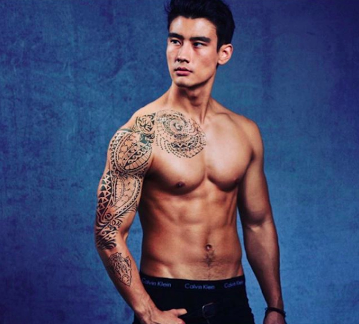 Alex Landi who plays Dr. Nico Kim on Grey's Anatomy.