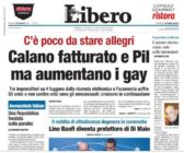The Italian newspaper condemned for its 'homophobic' headline.