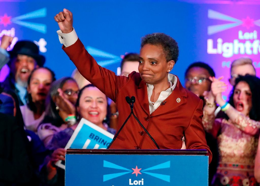 Lori Lightfoot elected first black, lesbian mayor of Chicago