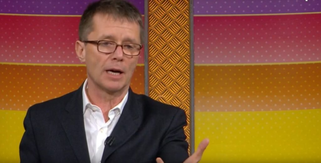 BBC host Nicky Campbell